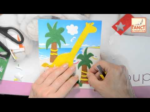 Fancy Creative. Картинки из фетра (DIY)