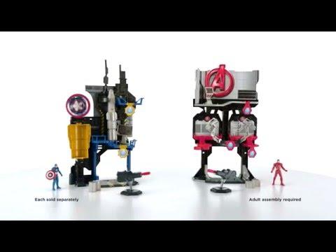 【小瓶子的雜貨小舖】孩之寶流行玩具 漫威美國隊長3 電影2.5吋人物變臉基地組 W1 B6740