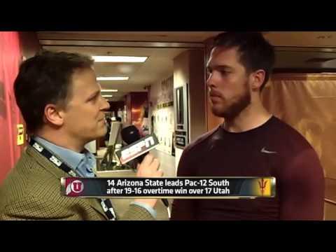 Utah Utes vs. Arizona State Sun Devils  -  November 01, 2014