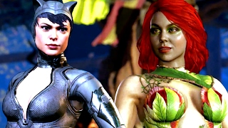 INJUSTICE 2 Gameplay Poison Ivy, Catwoman, Cheetah (NEW Injustice 2 Characters) All HD