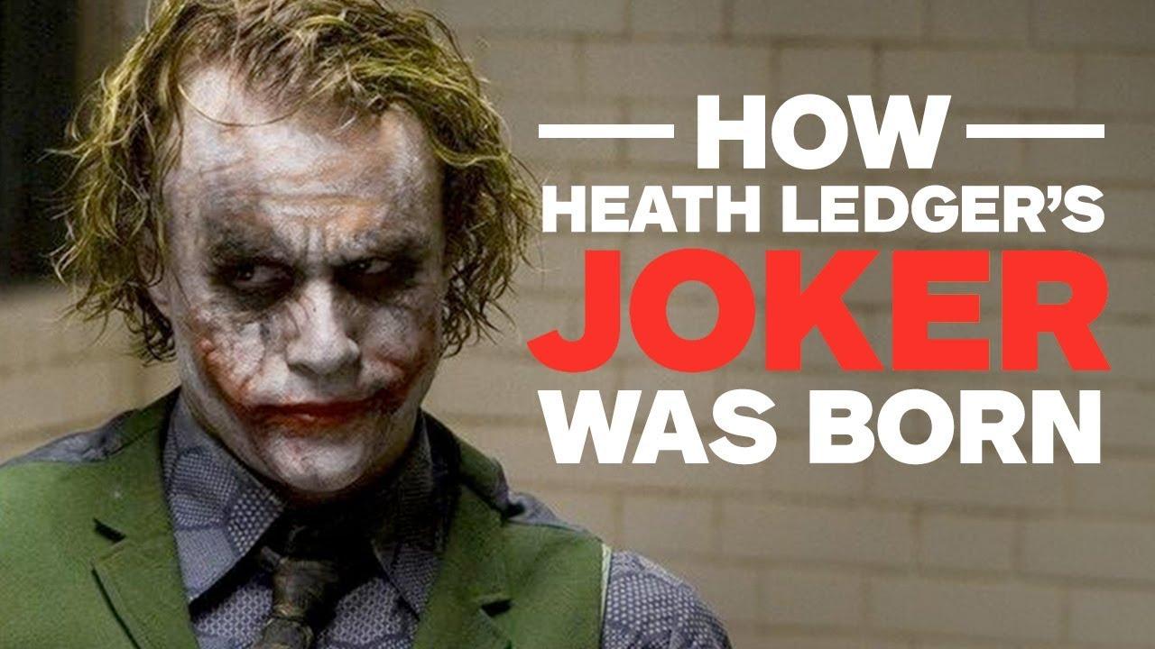 Download How Heath Ledger's Joker Was Born