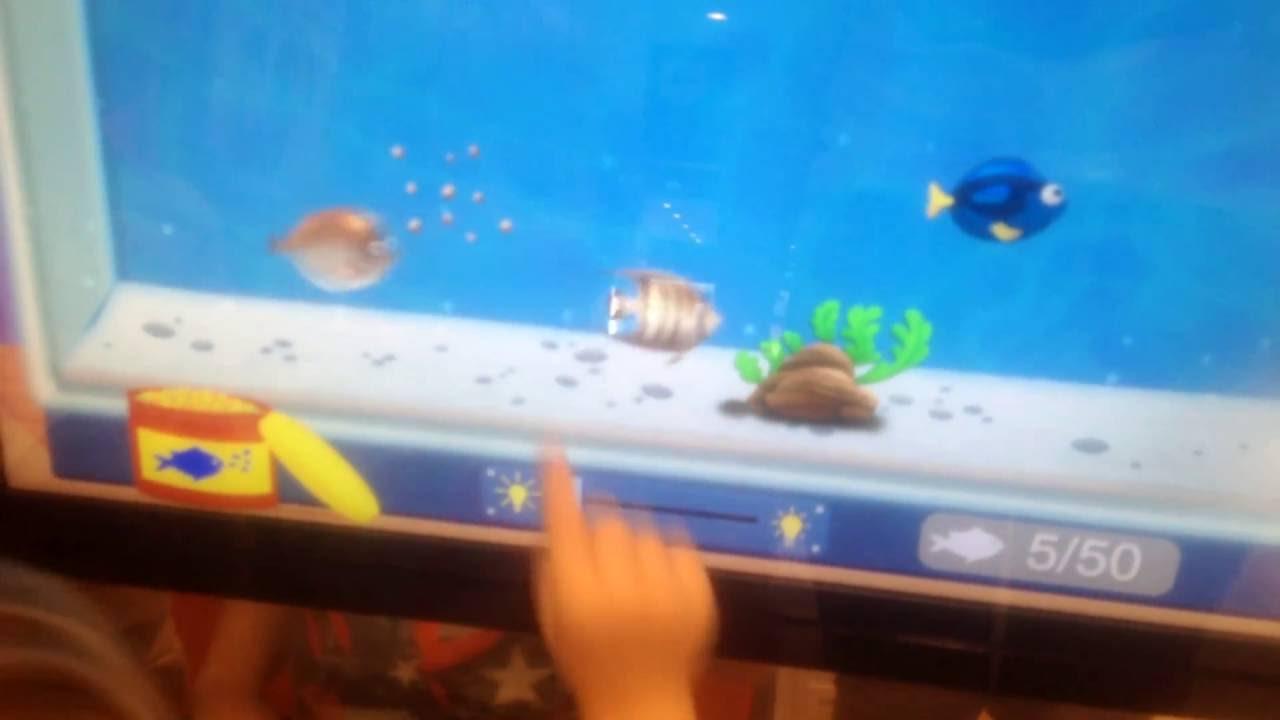 Огромный планшет. Детские игры. Аквариум с рыбками - YouTube