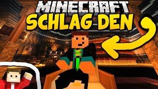 GOMME RAGE + Minispiele ohne Ende - Minecraft: SCHLAG DEN GOMME