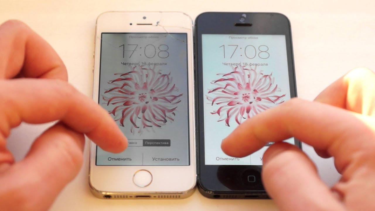 iphone 5 восстановленный дисплей - YouTube