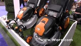#WorxPowerTools 56V Max Lithium Ion Push Mowers: By John Young of the Weekend Handyman