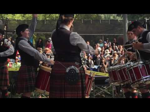 Prince Charles Pipe Band (Playing up in Grade I) - Pleasanton Games - MSR - September 3, 2016
