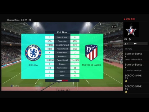 Borovo Gamers - PES Party 1 (03.04.2018.)