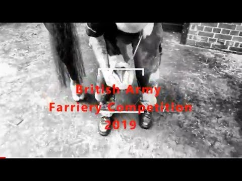 British Army Farrier Competition 2019