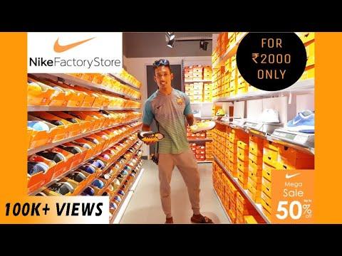 Nike Factory Outlet | Nike Shoes| Nike Merchandise | Dahisar 2018 | Mumbai