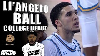 Li'Angelo Ball Is Not Scared To Shoot The Rock! College Debut! UCLA vs Cal State LA REACTION ᴴᴰ
