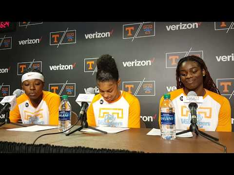 Lady Vol players post-game vs. South Carolina