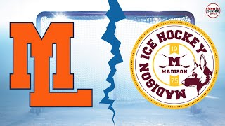 Live Hockey:  Mountain Lakes vs Madison