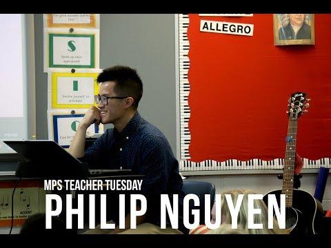 #TeacherTuesday - Philip Nguyen