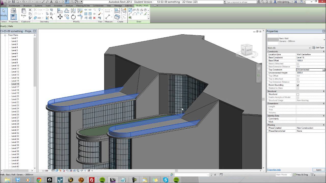 How i build a commercial building in revit architecture for Revit architecture house design