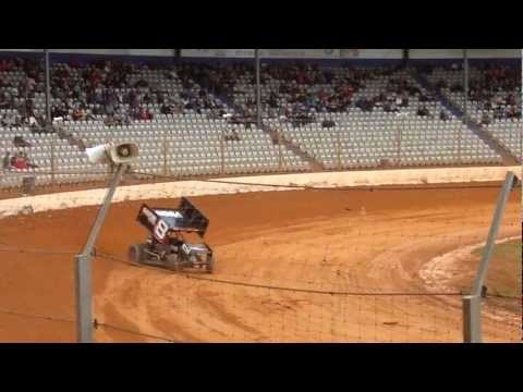 restart heat 1 sprintcars @ baypark jan 2012.mp4