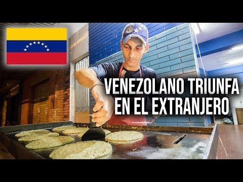HUYÓ DE VENEZUELA Y TRIUNFÓ EN PARAGUAY | COMIDA VENEZOLANA