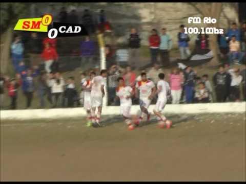 Gol de Matias Uhrig - San Martín 1-0 Diamantino (Relata Ramiro Perasso-Fm Rio Diamante)
