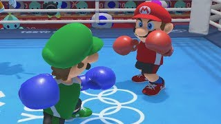 Mario & Sonic at the Tokyo 2020 Olympic Games - Boxing - All Characters Gameplay