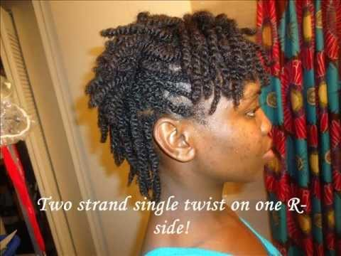 C Natural Hair Styles Youtube