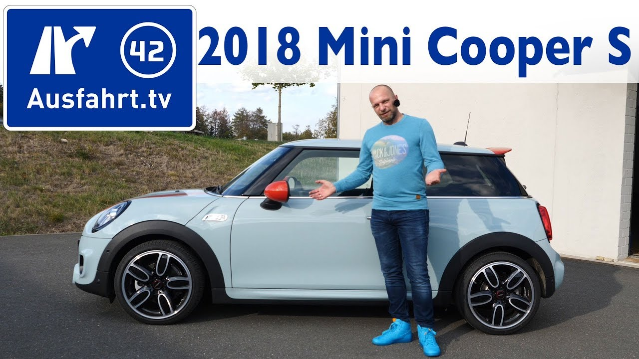 Video Fahrbericht 2018 Mini Cooper S Delaney Edition F56