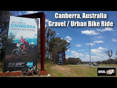 Canberra, Australia, Gravel / Urban Bike Ride - The Capital City of Australia!