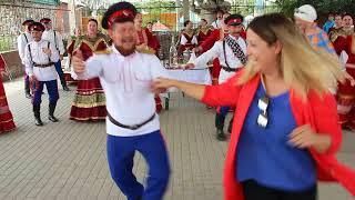 Казачья свадьба в станице Романовская