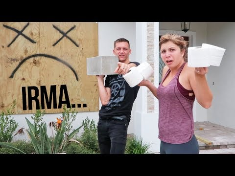 HURRICANE IRMA ALMOST HERE - Toilet Paper Mystery