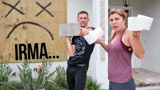 hurricane irma almost here toilet paper mystery