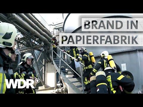 Feuer & Flamme | Feueralarm in der Papierfabrik | WDR