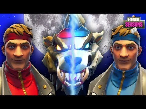 Werewolf Dire Meets His Evil Twin Brother New Skin Fortnite