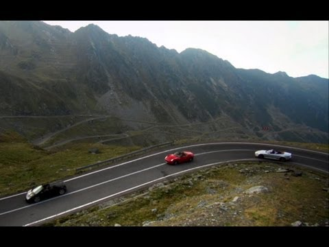 The greatest driving road in the world! | Now in Full HD | Top Gear | Series 14 | BBC