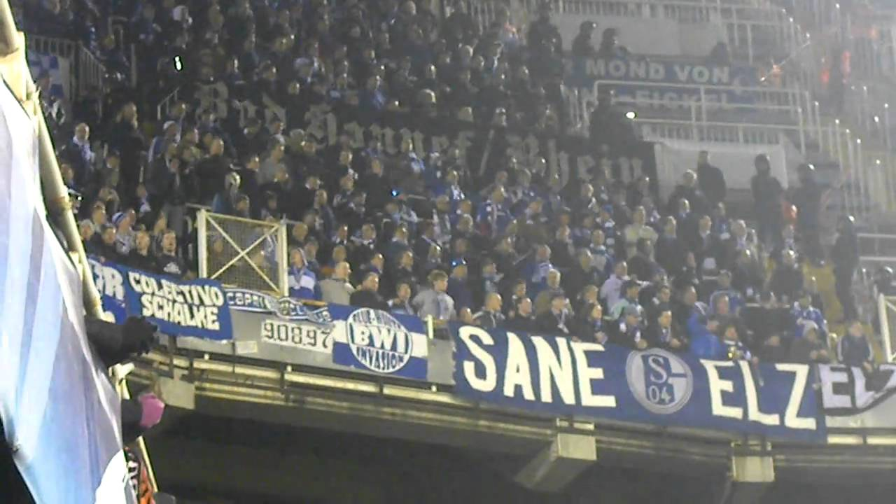 Schalke Hooligans Schlägerei