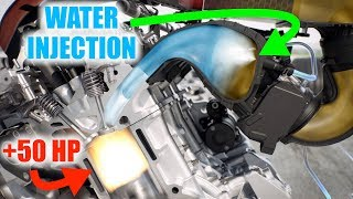How Bmw Used Water To Make +50 Horsepower