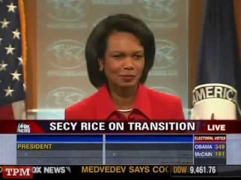 Condoleezza Rice on Obama