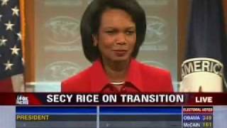 Condoleezza Rice on Obama's Victory