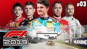 Mein 1. Formel 1 Rennen | F1 2019 #3 | Australien 🇦🇺 | Dner