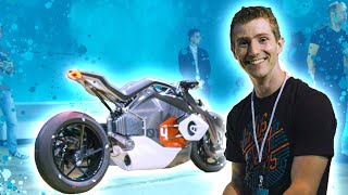 BMW's Crazy Surprise - Concept Autonomous Cars & Motorbike!
