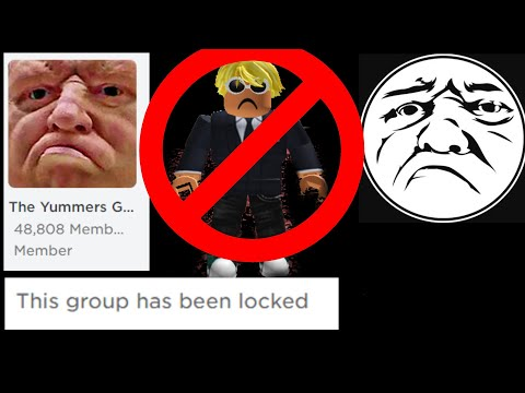 Yummersmummers Got Banned On Roblox And His Group Youtube
