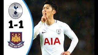 Download Video Tottenham vs West Ham 1-1 | All Goals & Highlights | Premier League - 04/01/2018 HD MP3 3GP MP4