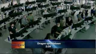 SpaceX Dragon Successful Reentry (5/31/2012, HD)