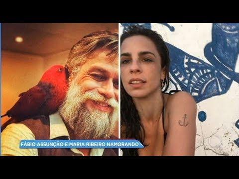 Maria Ribeiro e Fábio Assunção estão namorando