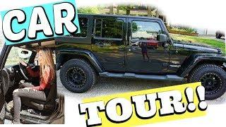 MY CAR TOUR 2018!! (JEEP WRANGLER SAHARA)