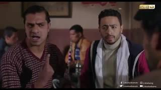 مشهد كوميدي مسخرة لـ سكرينة والهباش اللي شبهه الكفار فى الحلقة التاسعة من طاقة القدر