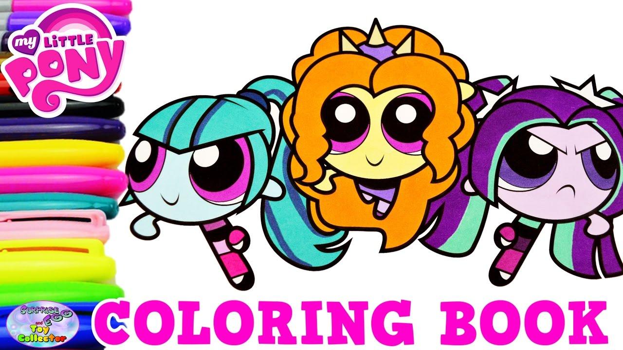 My Little Pony Color Swap Powerpuff Girls Dazzlings
