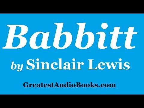 BABBITT by Sinclair Lewis P1 - FULL AudioBook | Greatest Audio Books