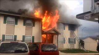 Port Sylvia Drive Apartment Fire