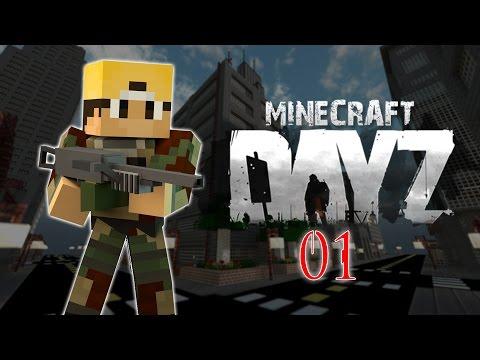 Minecraft Infected RPG Episode #1: INFECTION! (Minecraft DayZ)