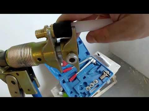 Пресс инструмент Vieir  для труб REHAU // Сшитый полиэтилен//