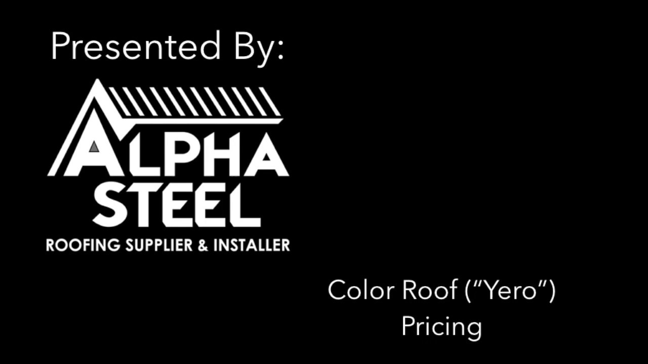 Yero Buying Guide in the Philippines - Roofing Supplier with Delivery