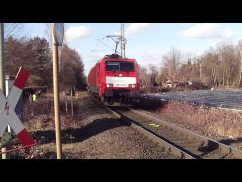 Chemical Tankers Freight Train DB Cargo!